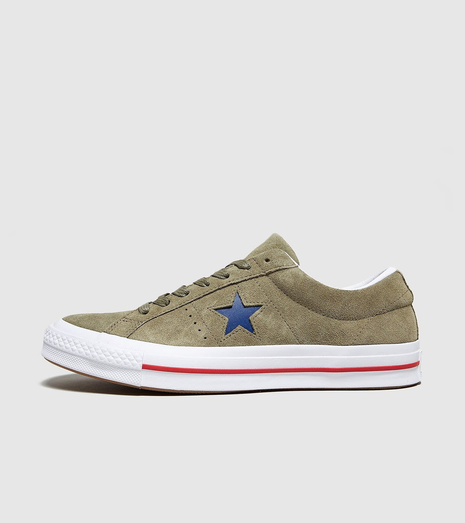 Converse Converse One Star Military, Green SOLEHEAVEN