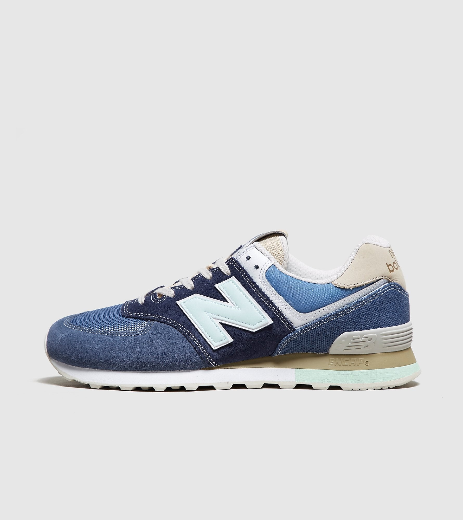 new concept 718c7 0c4fc New Balance New Balance 574, Blue/Grey at Soleheaven Curated Collections