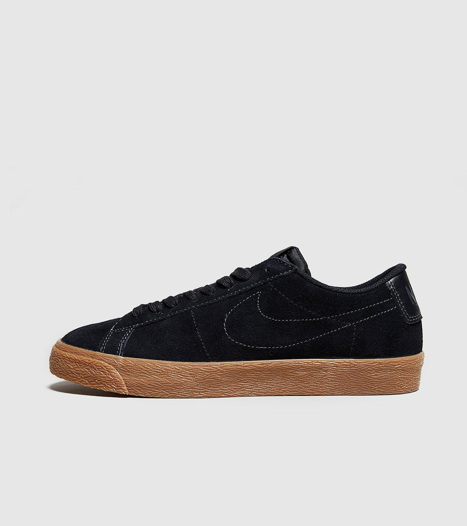 Nike SB Nike SB Zoom Blazer Low, Black/Brown SOLEHEAVEN