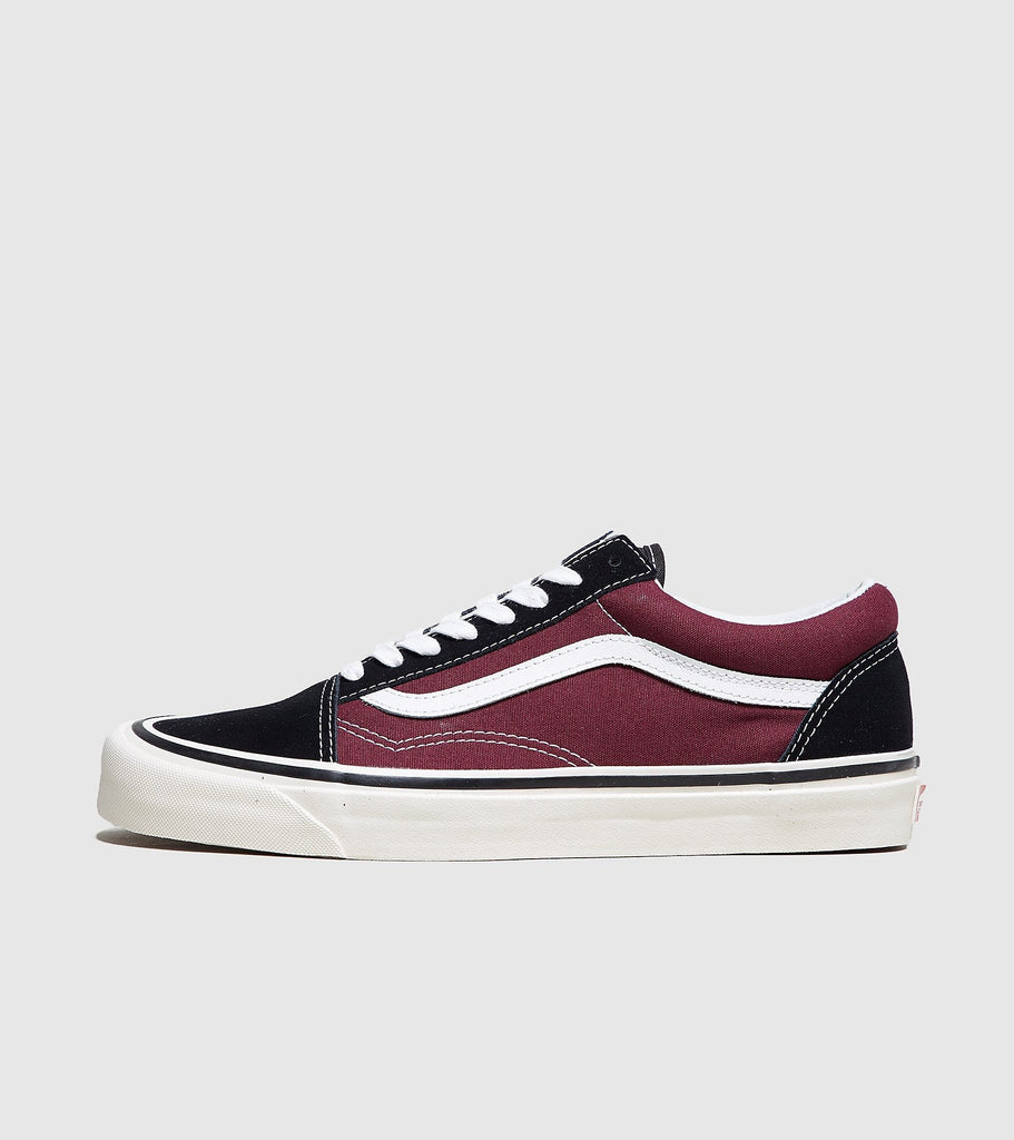 Buy Vans Vans Anaheim Old Skool, Black/Burgundy size? online now at Soleheaven Curated Collections