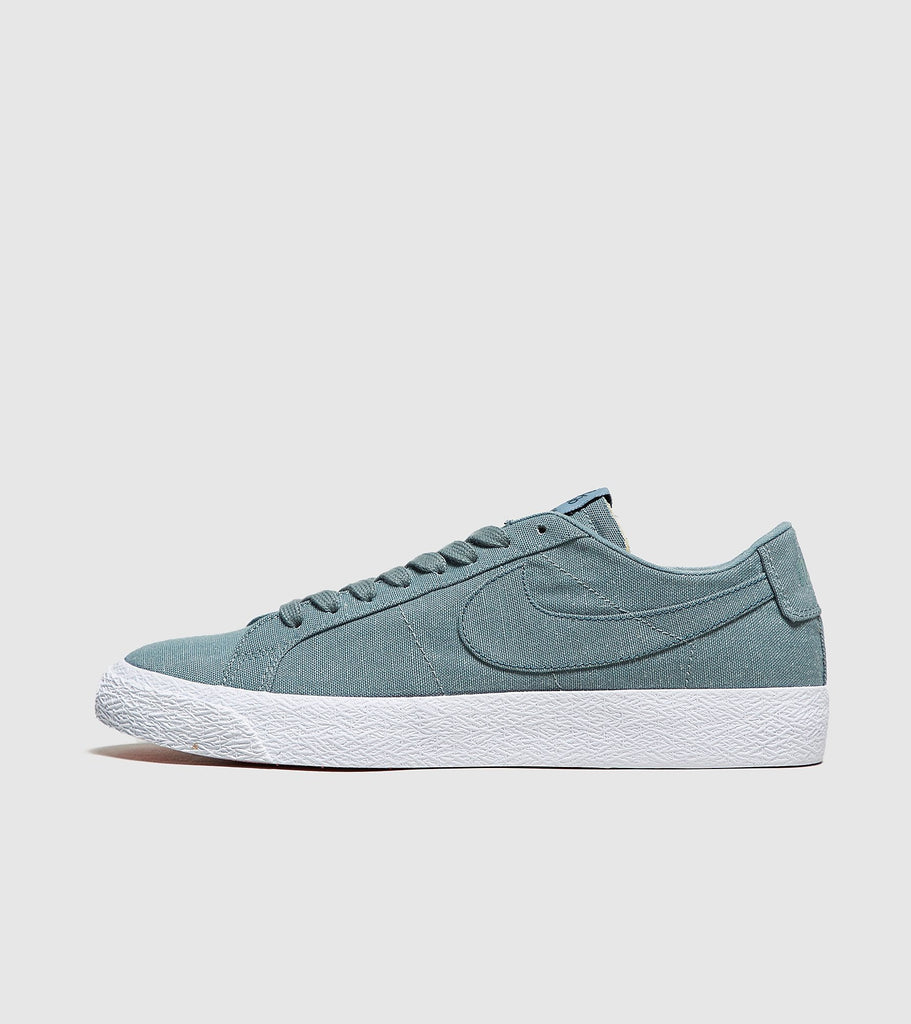 Nike SB Nike SB Blazer Low Canvas Deconstructed, Green SOLEHEAVEN