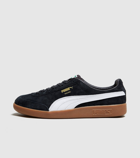 Puma PUMA Madrid, Black/White SOLEHEAVEN