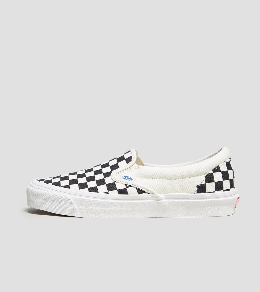 Vans Vans Slip On OG Checkerboard, Black/White SOLEHEAVEN