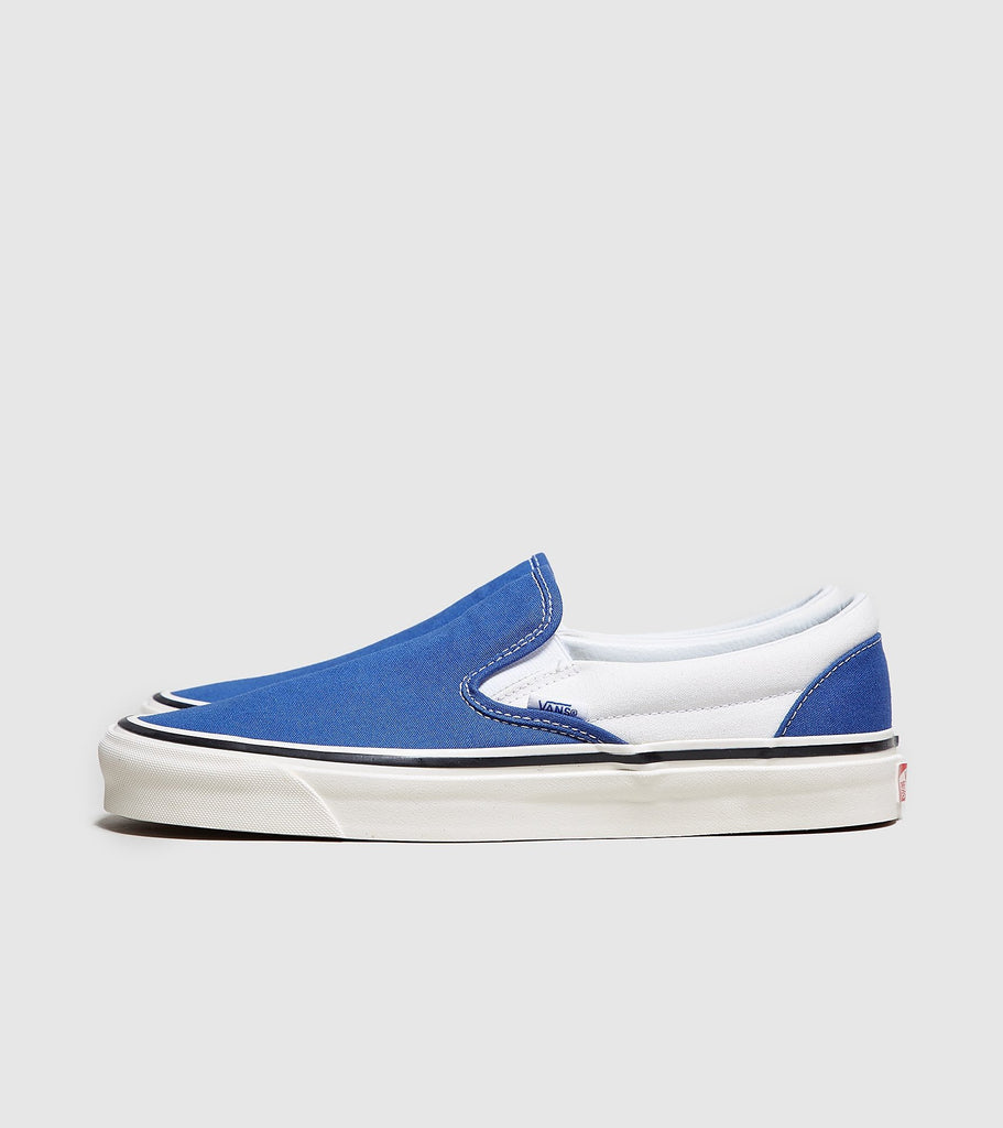 Vans Vans Anaheim Slip On, Blue/White SOLEHEAVEN