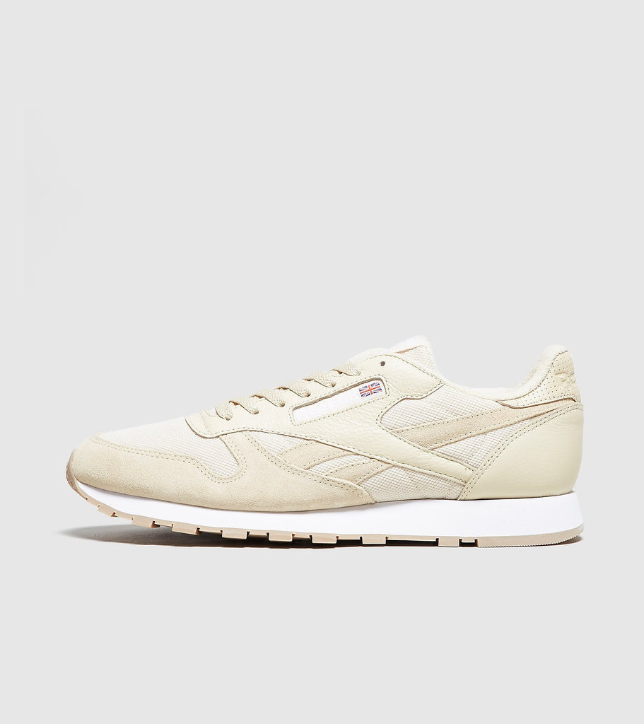 Reebok Reebok Classic Leather, Yellow/White SOLEHEAVEN