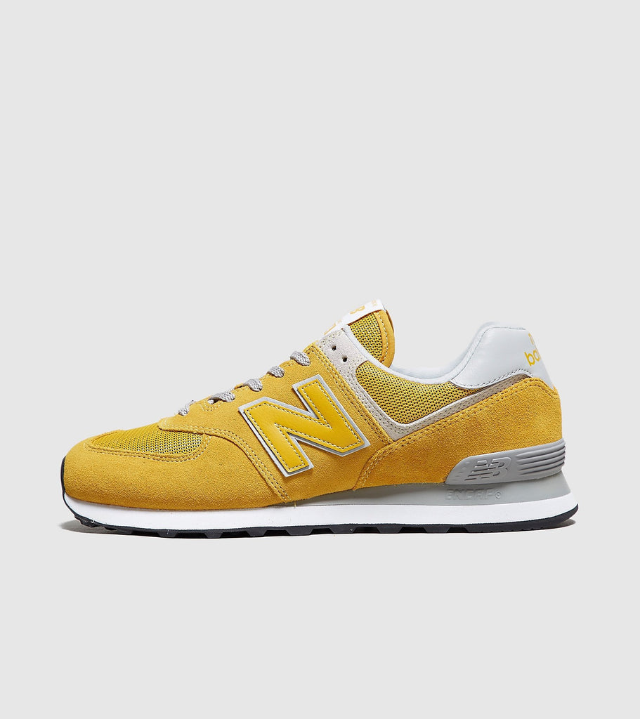 New Balance New Balance 574, Yellow/White SOLEHEAVEN
