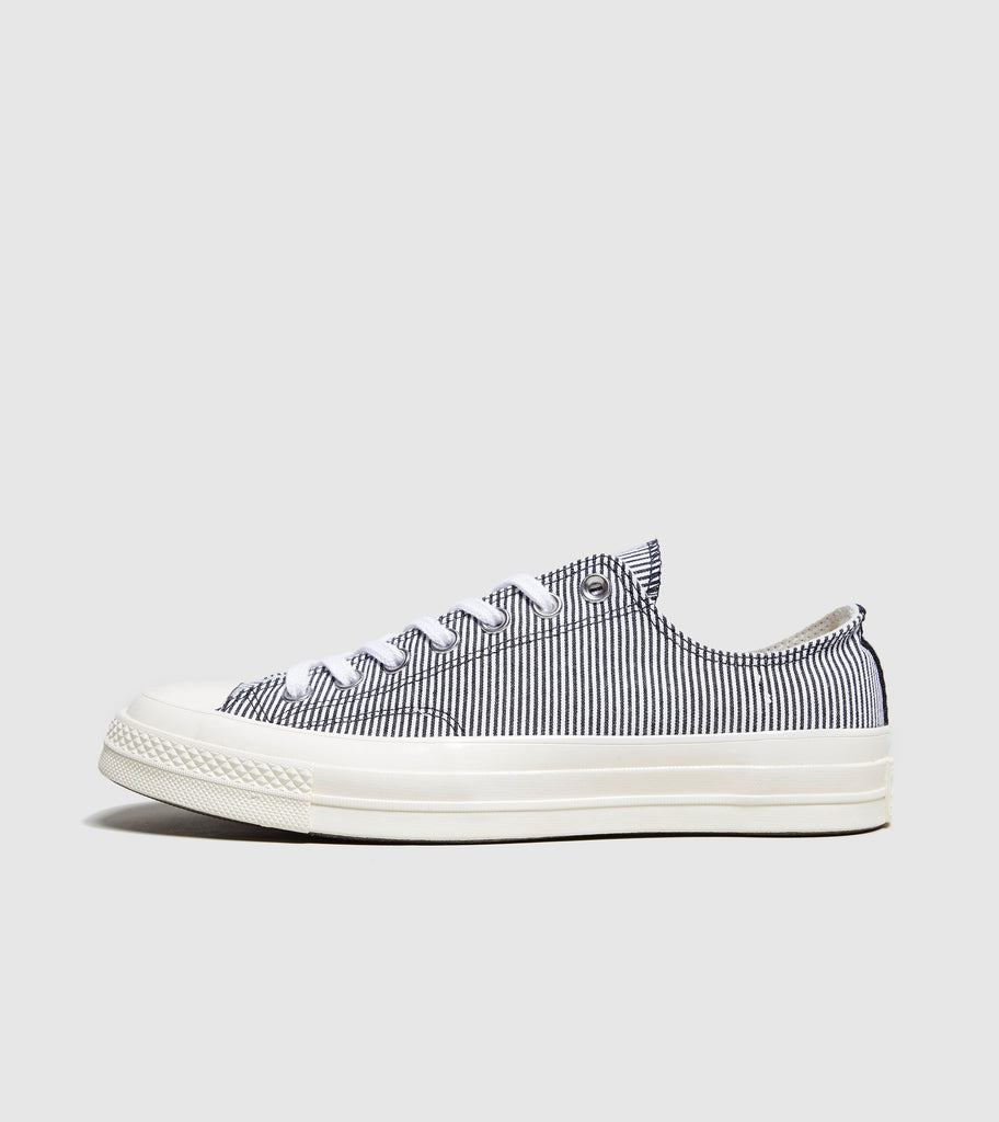 Converse Converse Chuck Taylor 70 Striped Chambray, Blue/White SOLEHEAVEN