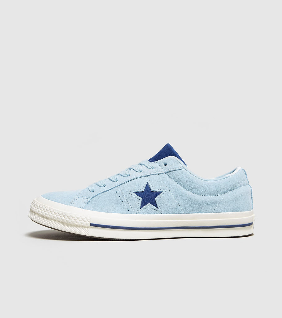Buy Converse Converse One Star 74, Light Blue/Navy size? online now at Soleheaven Curated Collections