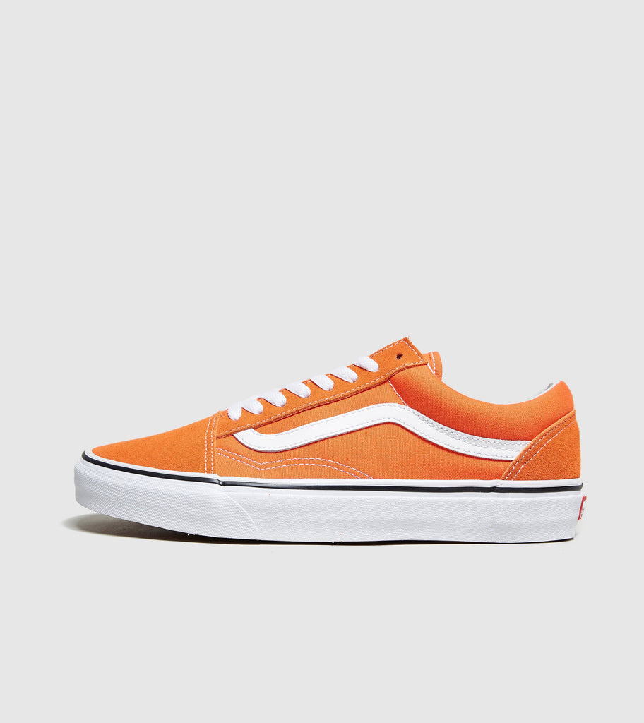 Vans Vans Old Skool, Orange/White SOLEHEAVEN