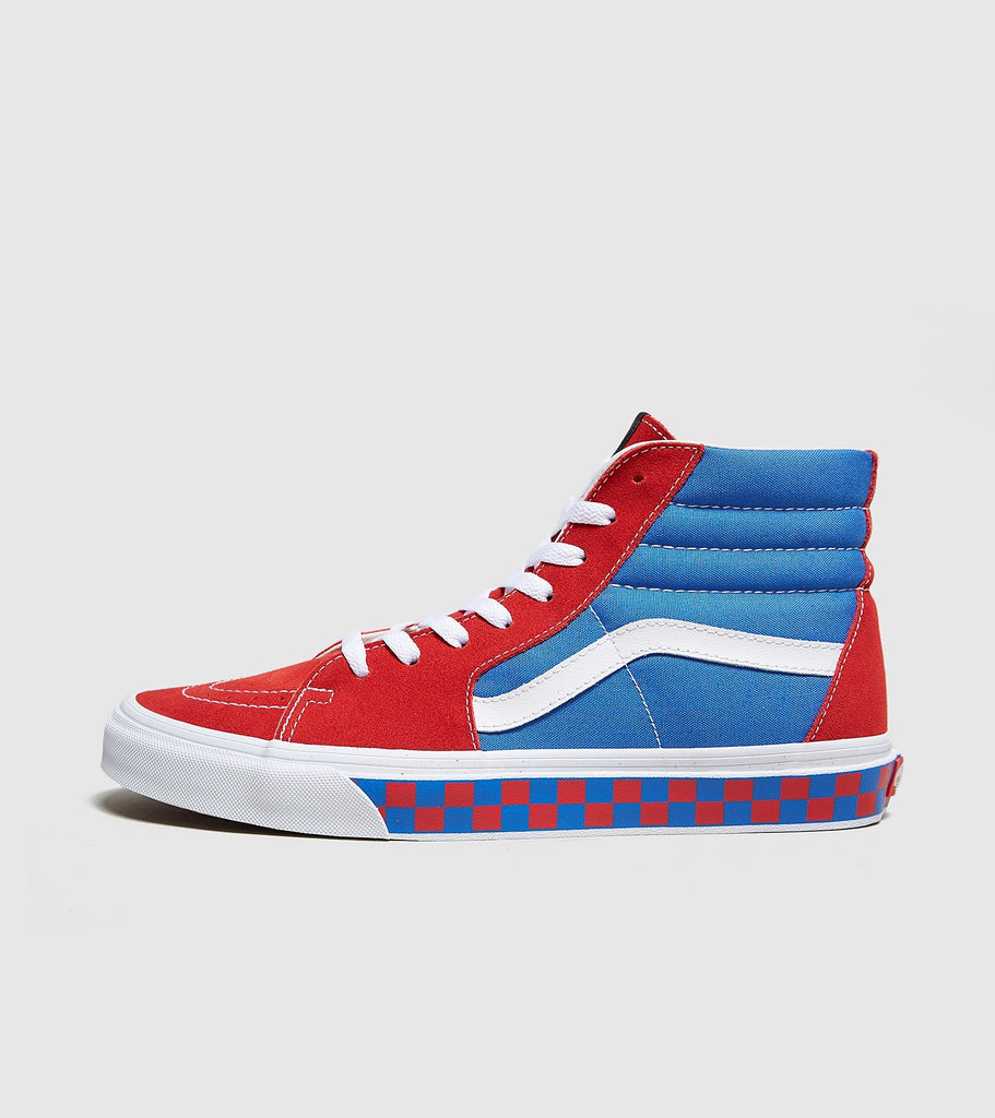 Vans Vans Old Skool, Red/Blue SOLEHEAVEN