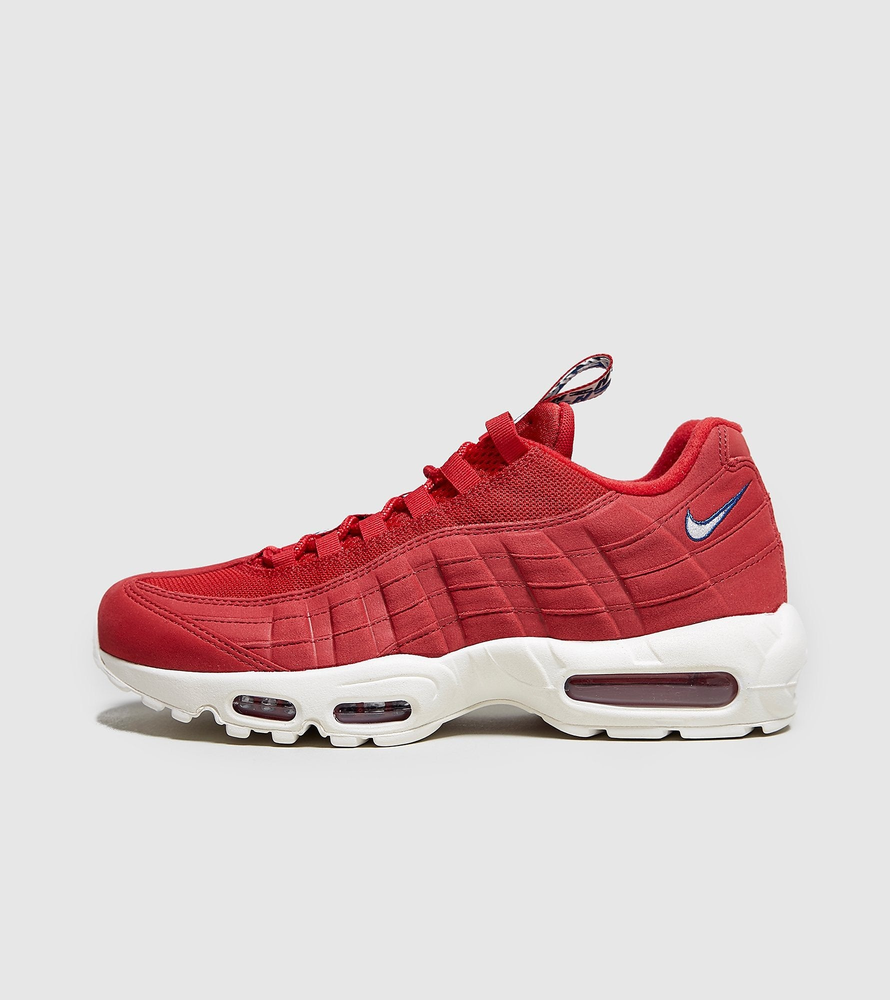 sports shoes 6cdb8 13c33 Nike Nike Air Max 95  Taped , Red White at Soleheaven Curated Collections