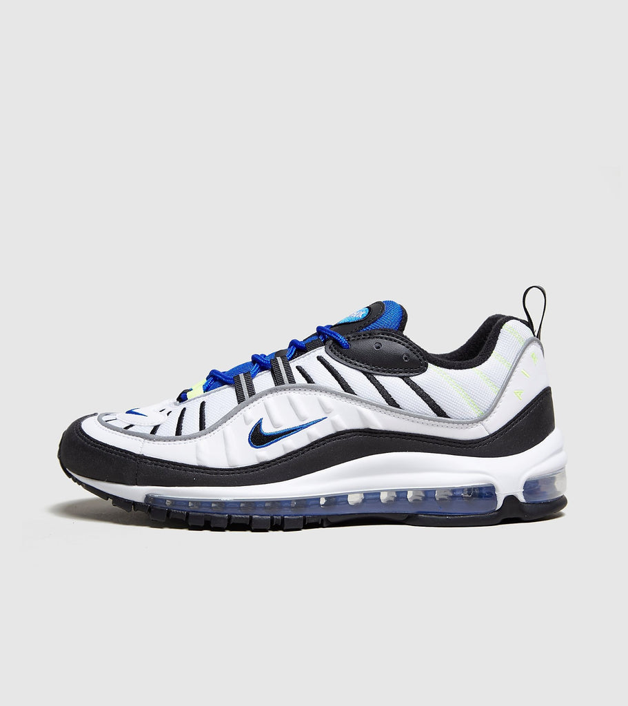 Nike Nike Air Max 98, White/Blue SOLEHEAVEN