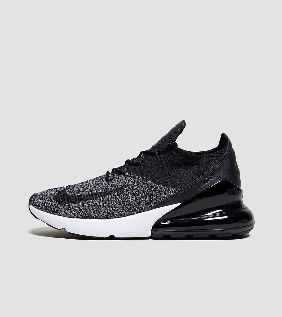 Buy Nike Nike Air Max 270 Flyknit, Black/White size? online now at Soleheaven Curated Collections