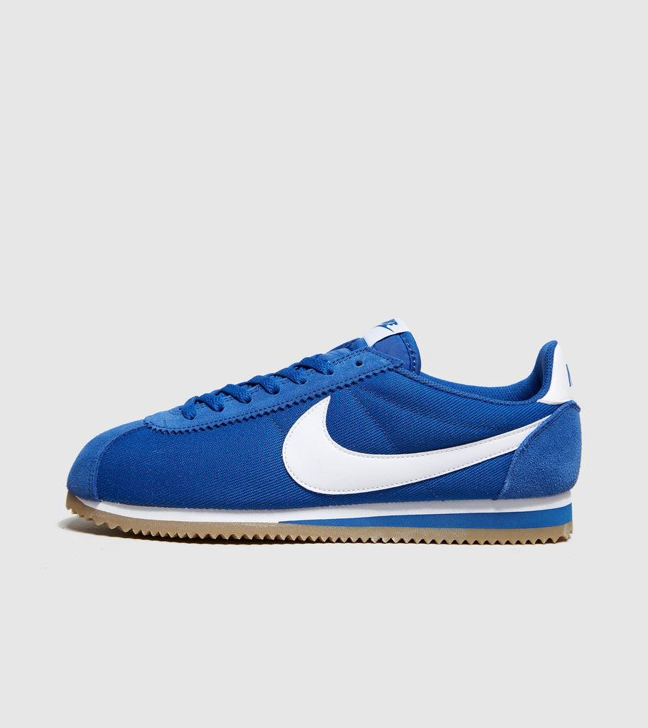 huge discount 85e07 62d43 ... Blue White size online now at Soleheaven Curated Collections Nike  Cortez Blue Jay NIKE Cortez Basic Nylon Mens Fashion-Sneakers 819720-402 6  - Signal ...
