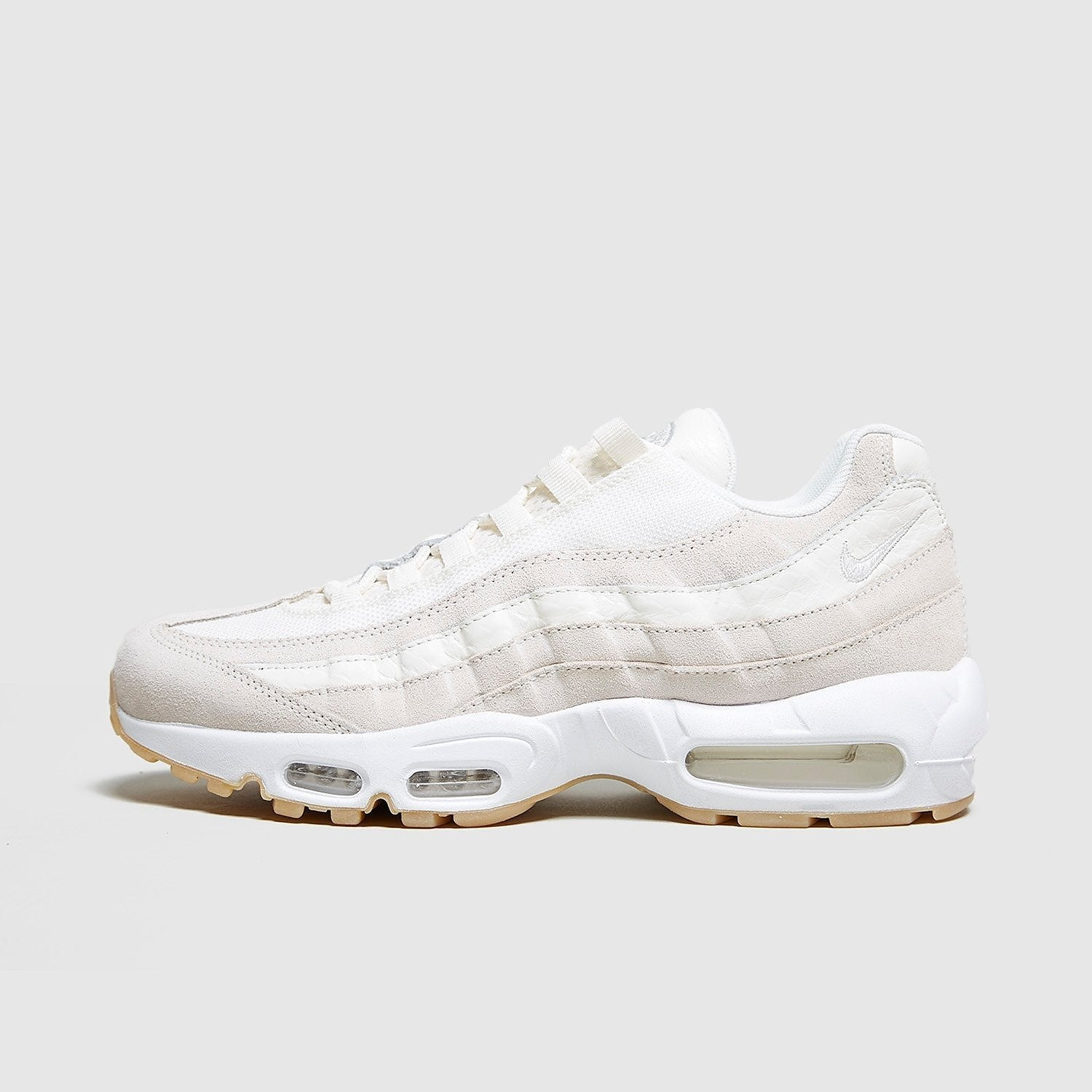 best website fd4d4 c7eee Nike Nike Air Max 95 Premium, White/White at Soleheaven Curated Collections