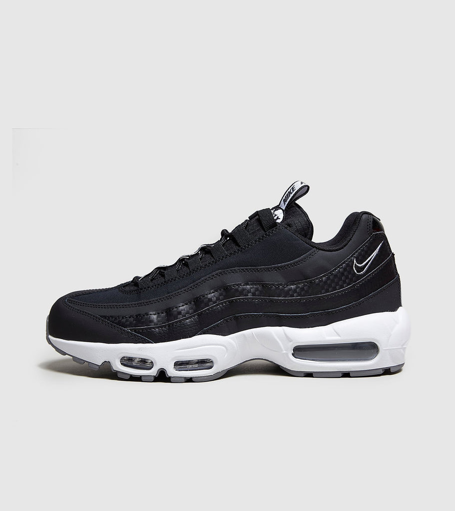 Nike Nike Air Max 95 'Taped', Black/White SOLEHEAVEN