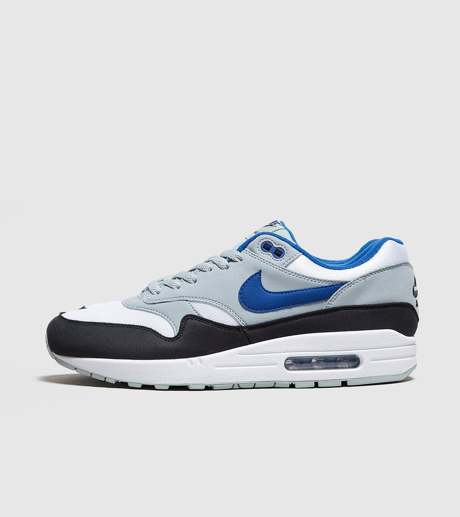 Nike Nike Air Max 1, White/Blue SOLEHEAVEN