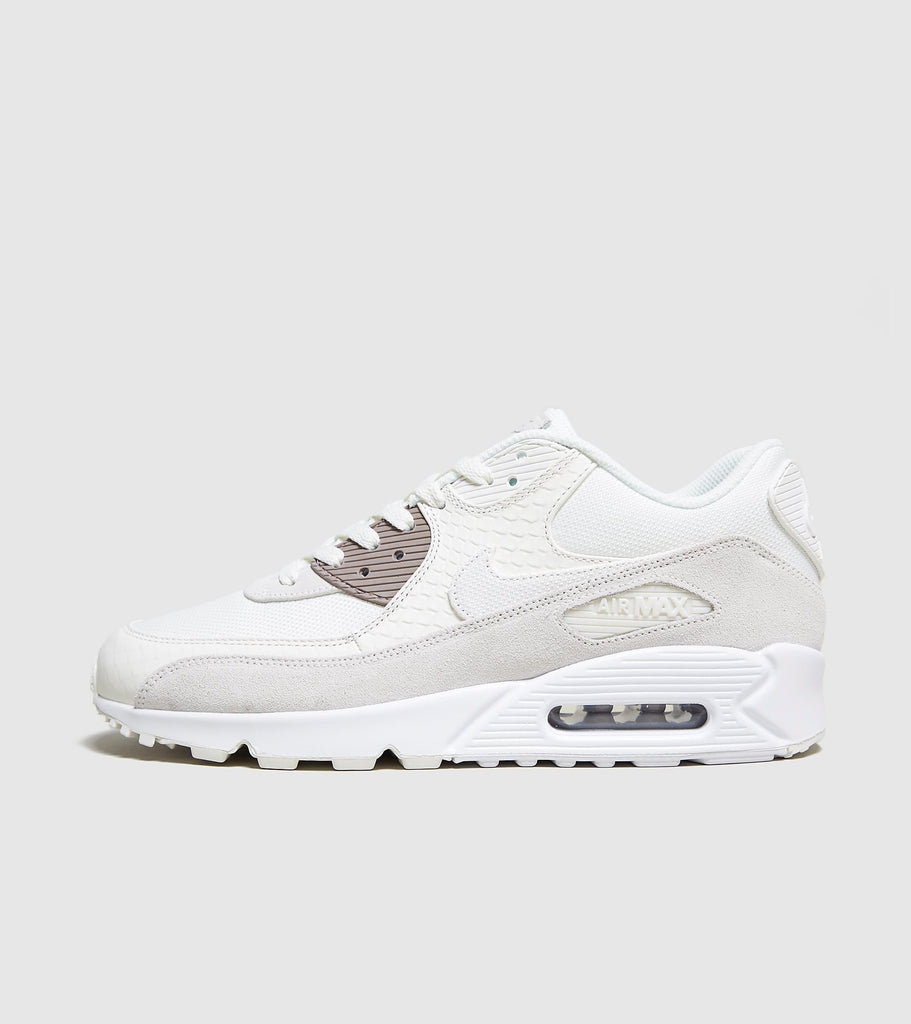 uk availability 1dd7b 60fad Nike Nike Air Max 90 Premium, White Beige SOLEHEAVEN