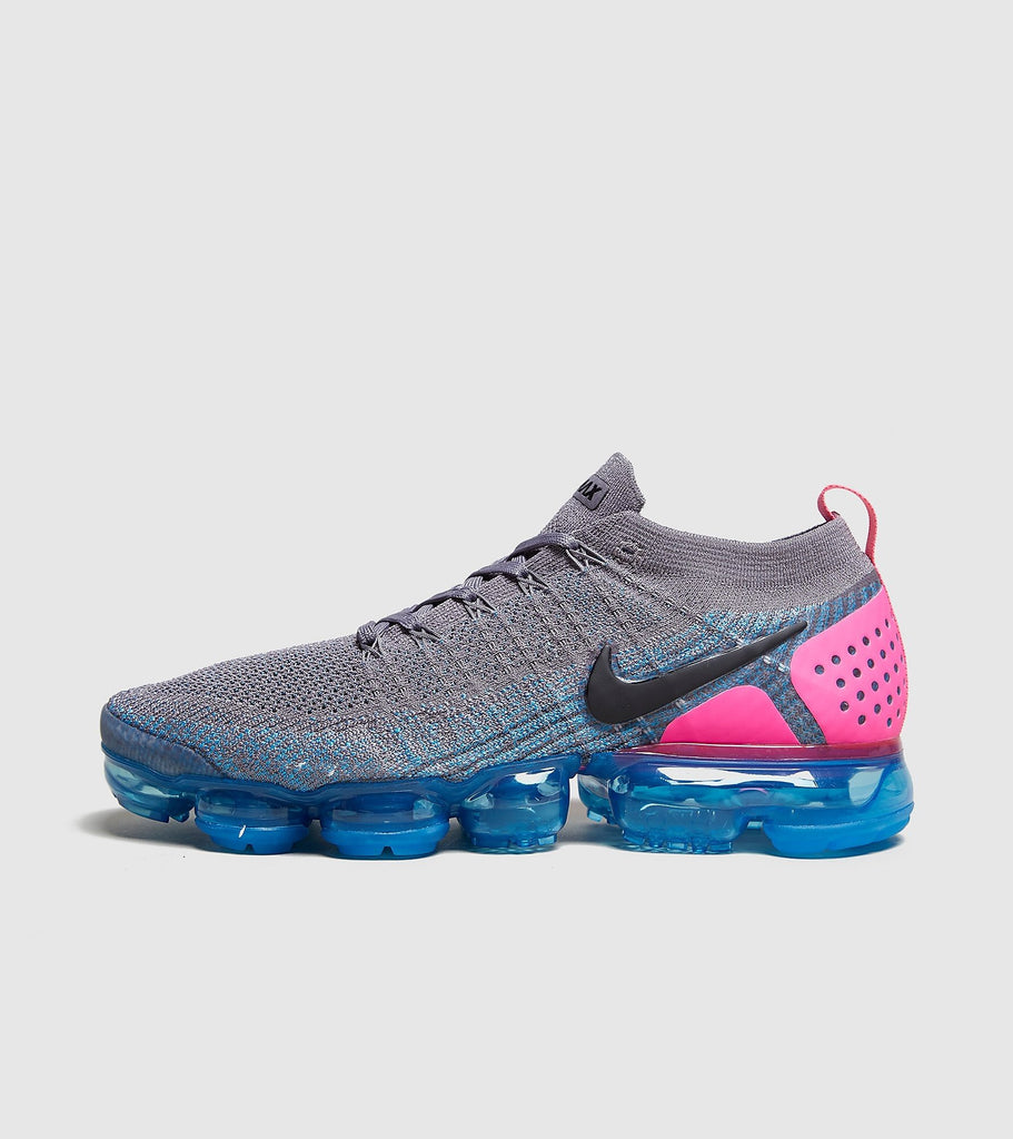 Buy Nike Nike Air Vapormax Flyknit 2, Grey/Pink size? online now at Soleheaven Curated Collections