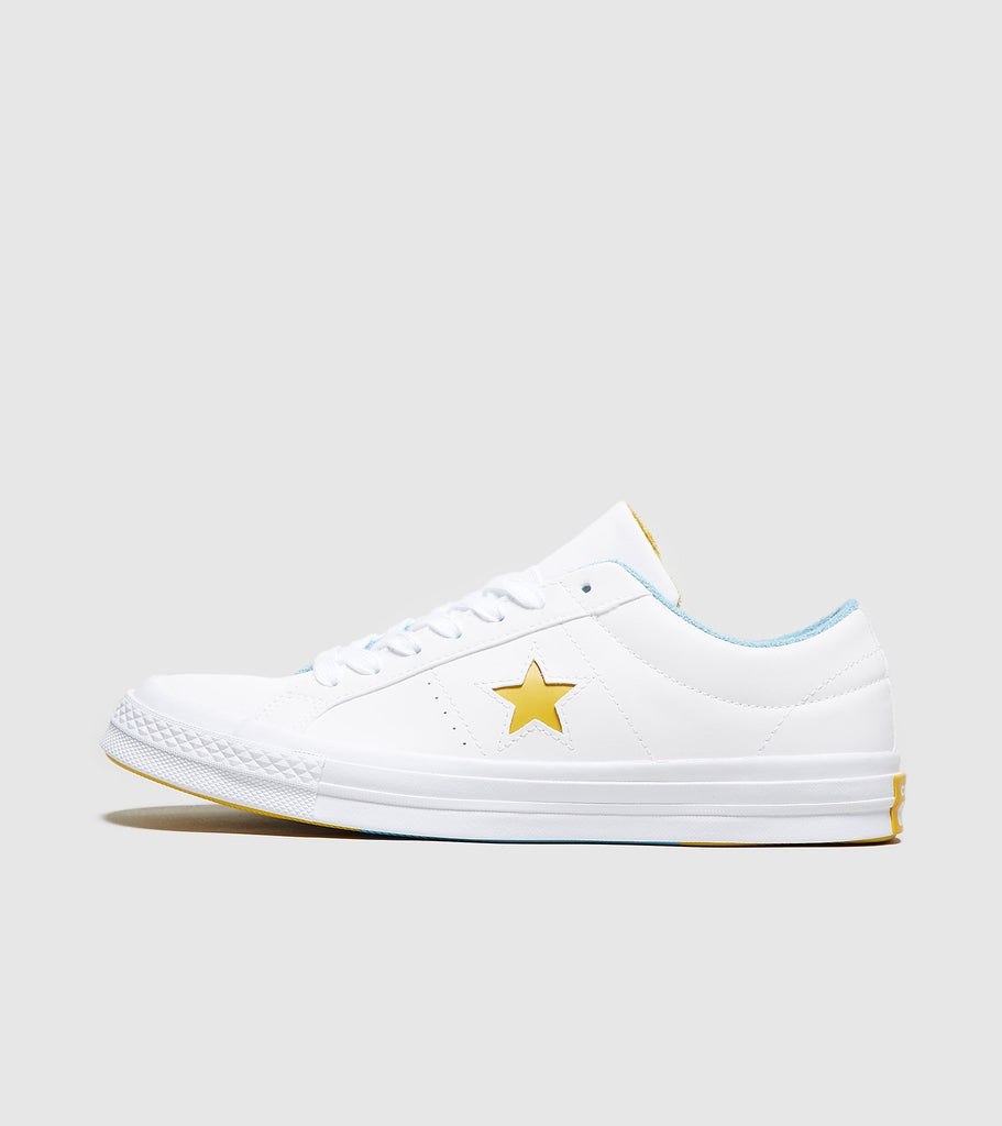 Converse Converse One Star 74, White/Yellow SOLEHEAVEN