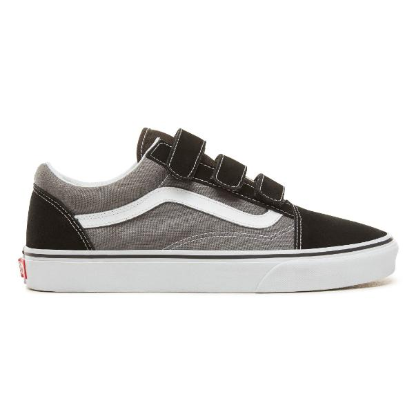 Vans Vans Old Skool Strapped 'Black / Pewter' SOLEHEAVEN