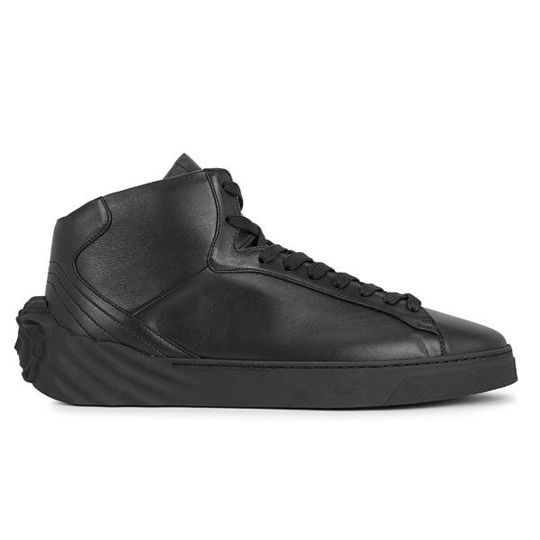 Versace Versace Medusa 'Black Leather' SOLEHEAVEN