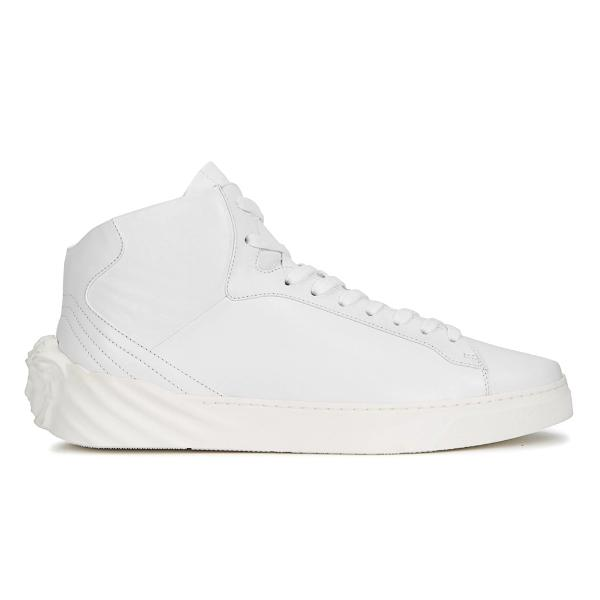 Versace Copy of Versace Medusa 'White Leather' SOLEHEAVEN