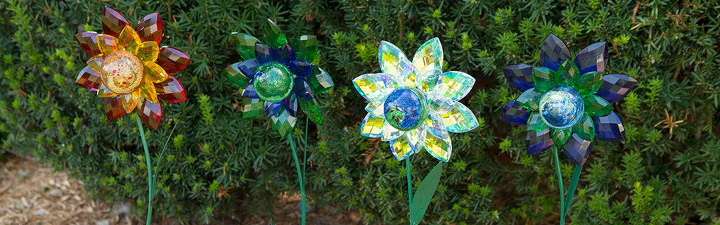 Illuminarie Gem Flower Stakes