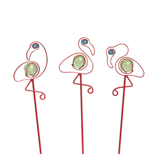 Illuminarie Flamingo Pot Sticker (Set of 3)