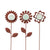 Illuminarie Rustic Flower Pot Sticker 3pk