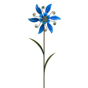Illuminarie Flower Pinwheel - Blue