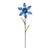 Filigree Flower Pinwheel - Blue