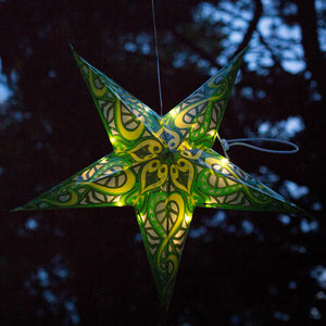 Emerald City Solar Star Lantern