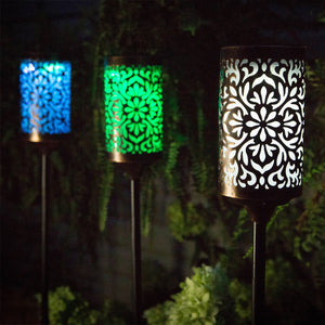 Zanzibar Solar Torch (color-changing LED)