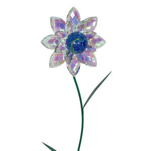 Illuminarie Gem Flower Stake - Iridescent