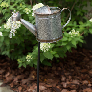Vintage Solar Watering Can - KD Stake