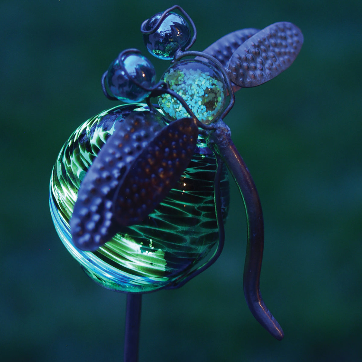 Illuminarie Dragonfly Stake