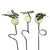 Small Illuminarie Garden Critter Pot Sticker -3 pc set