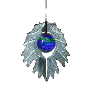 Vintage Illum Leaf Hanging Spinner