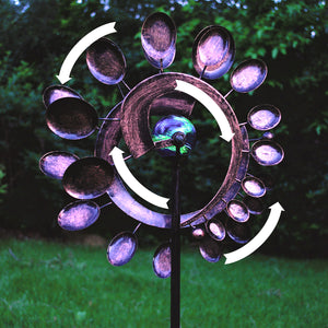 Illuminarie Dual Motion Windwheel