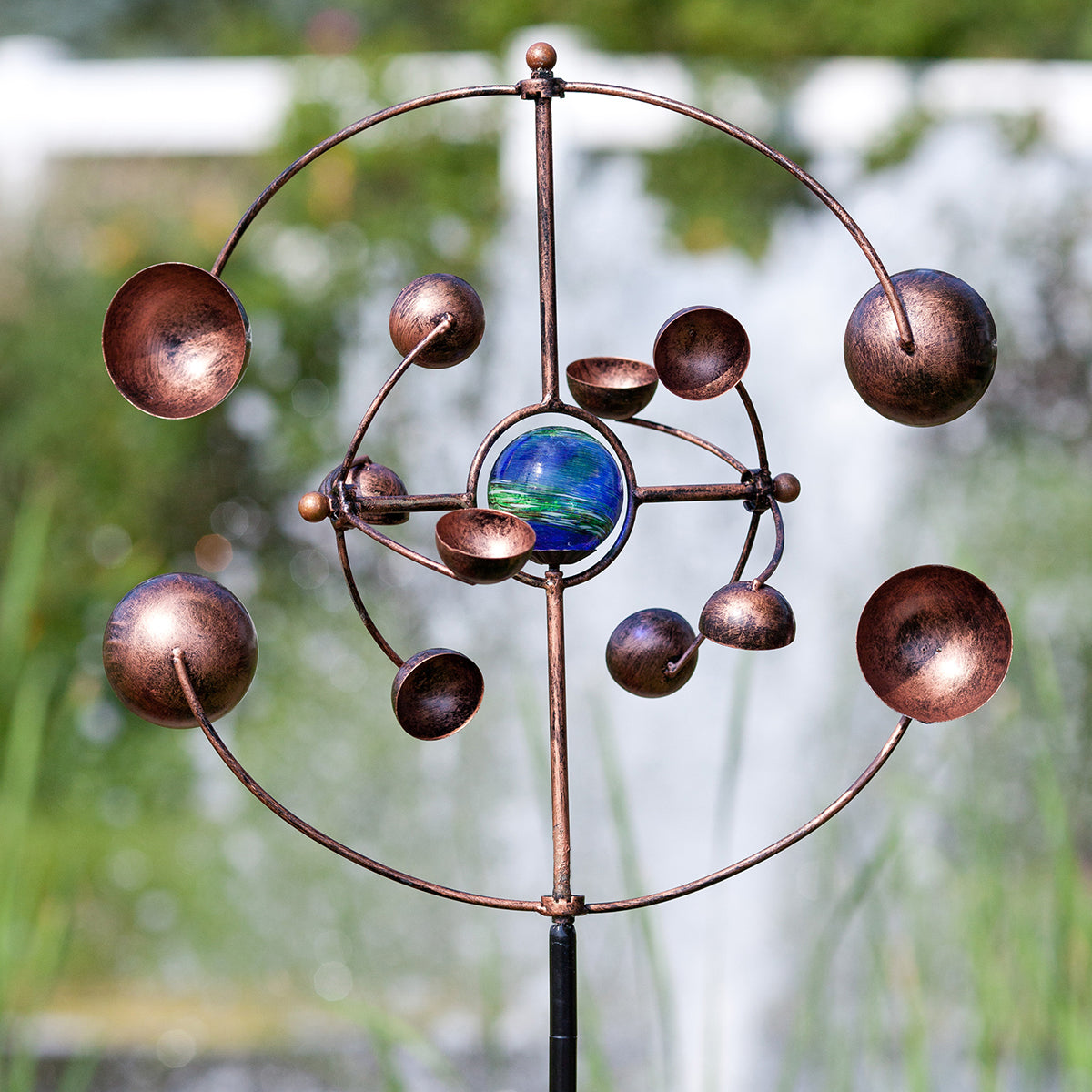 Illuminarie Zydeco Kinetic Spinner Stake
