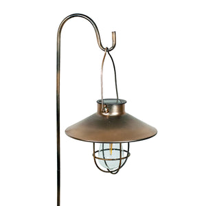 Marine Pendant Edi-Sol Lantern with Shepherd's Rod 2pk - Copper