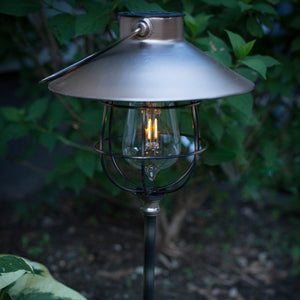 LunaLite 2-in-1 Solar Marine Path Light Copper Edi-Sol Lantern