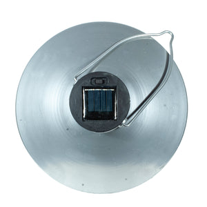LunaLite 2-in-1 Solar Marine Path Light Silver Edi-Sol Lantern