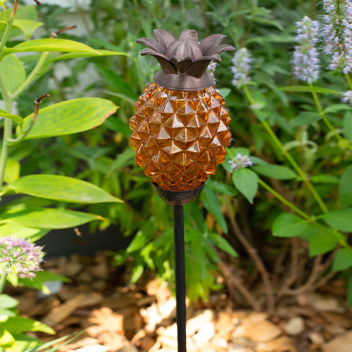 LunaLite Pineapple Welcome Stake - Amber