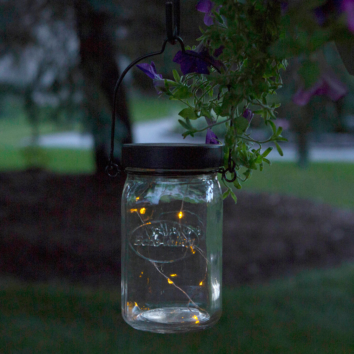 Afterglow Universal Mason Jar Cap Twinkle Lights (Set of 2)