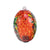 Lg. Oblong Matisse Hanging Spirit Orb - Red