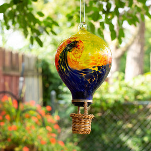 LunaLite Balloon Lantern - Blue/Orange