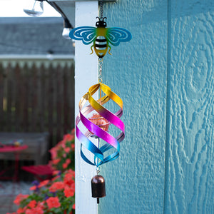 Bee Windweaver Solar Spinner
