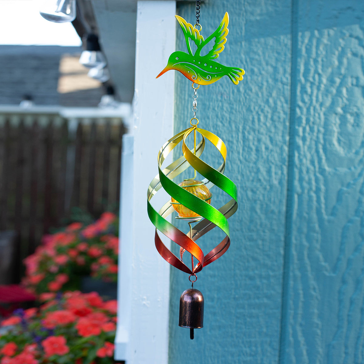 Hummingbird Windweaver Solar Spinner